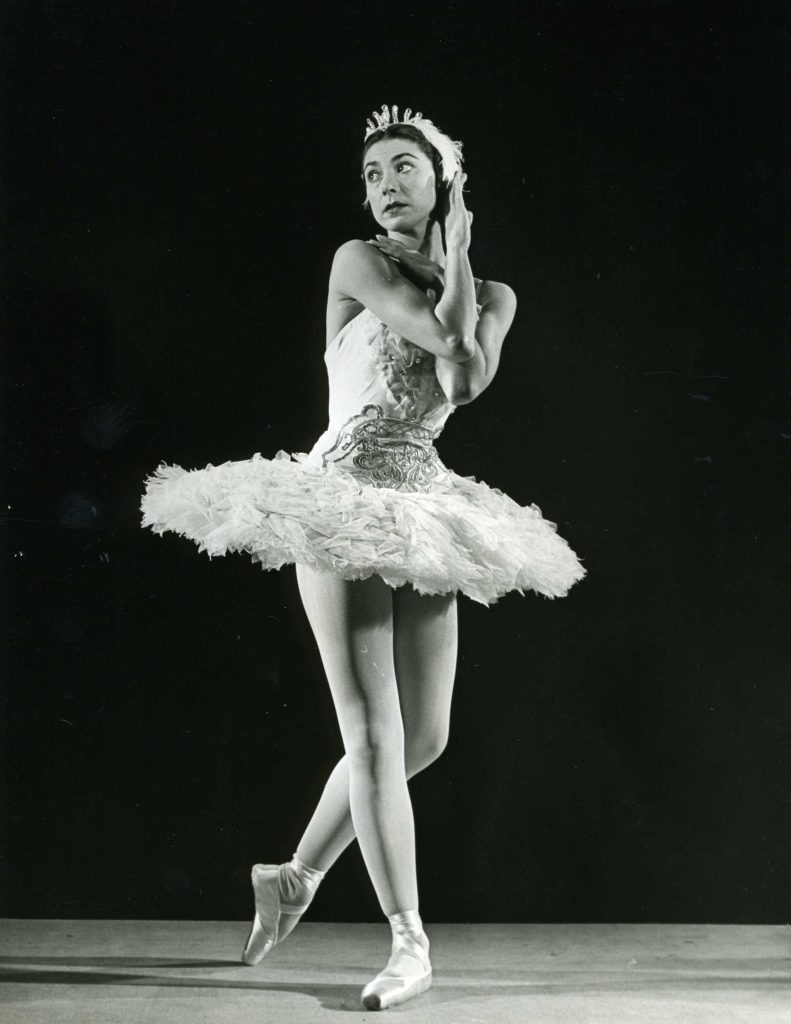 Margot Fonteyn as Odette in the Sadler's Wells Ballet production