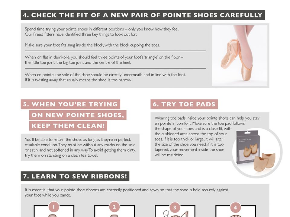 Pointe Shoe Tips
